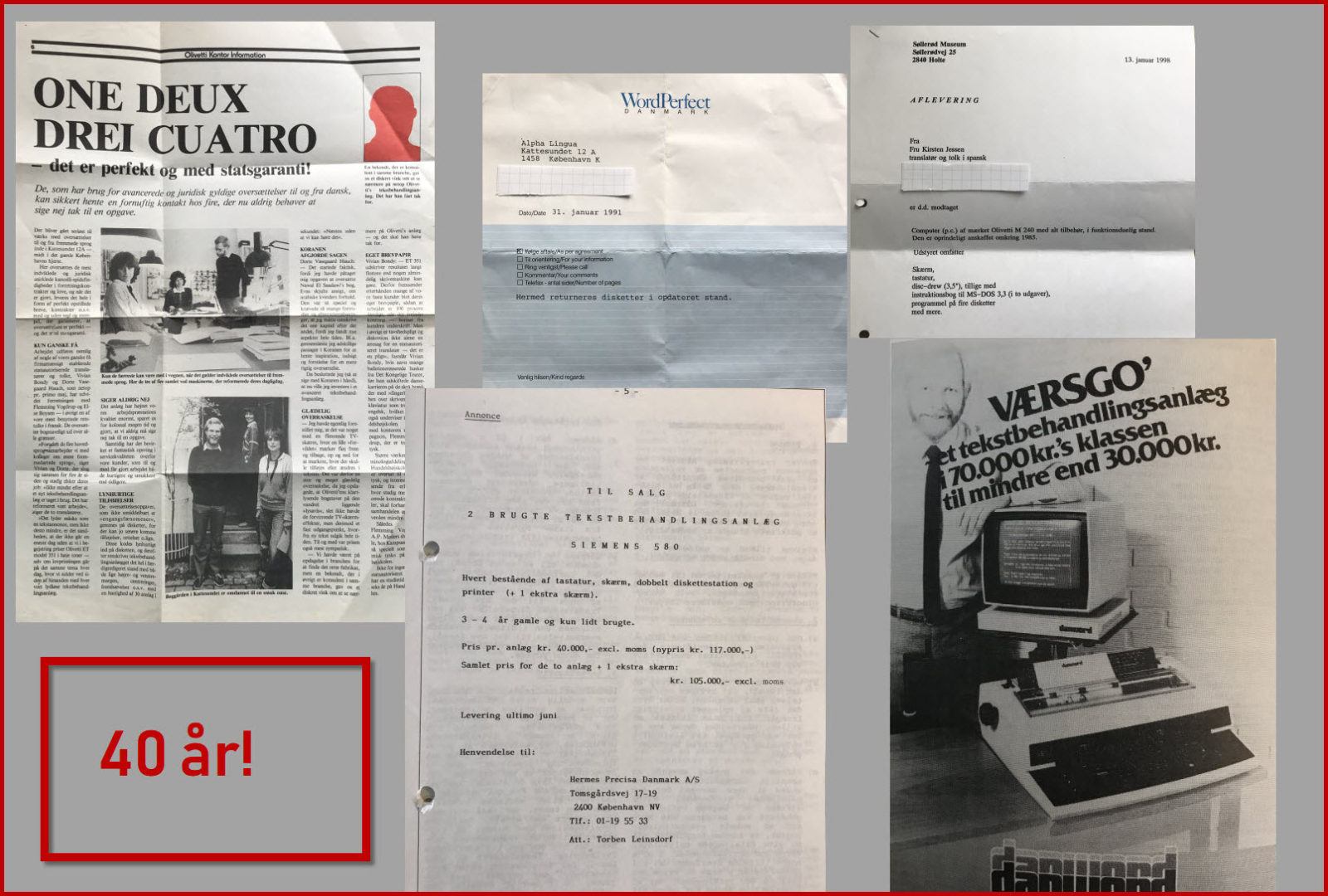 40-års jubilæum Alpha-Lingua